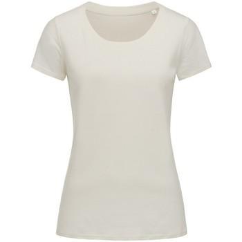 Textil Mulher T-Shirt mangas curtas Stedman Stars  Branco de inverno