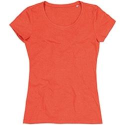 Textil Mulher T-Shirt mangas curtas Stedman Stars Lisa Abóbora Heather