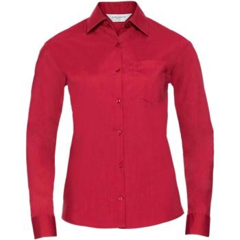 Textil Mulher camisas Russell 934F Vermelho clássico