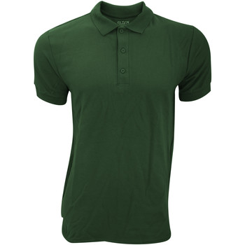 Textil Homem Polos mangas curta Gildan Premium Verde Floresta