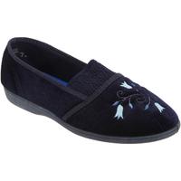 Sapatos Mulher Chinelos Sleepers Inez Azul-marinho