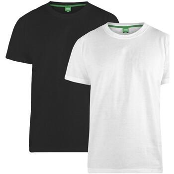 Textil Homem T-Shirt mangas curtas Duke  Preto/branco