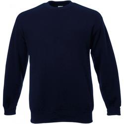 Textil Homem Sweats Universal Textiles 62202 Meia-noite Azul