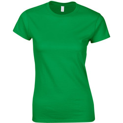 Textil Mulher T-Shirt mangas curtas Gildan Soft Verde Irlandês