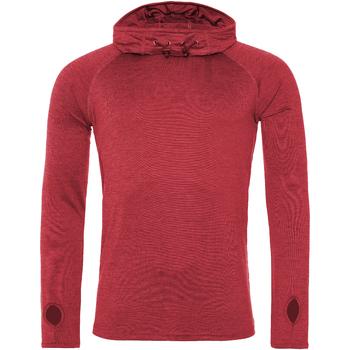 Textil Homem T-shirt mangas compridas Awdis  Melange Vermelha