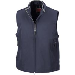 Textil Homem Casacos de malha Result Gilet Azul-marinho