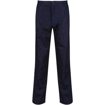 Textil Homem Calça com bolsos Regatta TRJ330L Azul-marinho