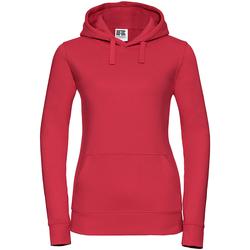 Textil Mulher Sweats Russell 265F Vermelho clássico
