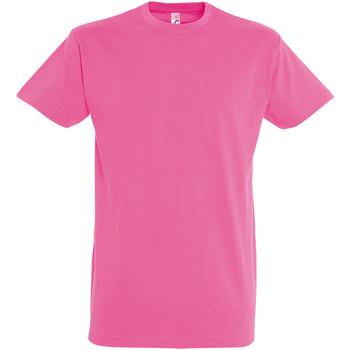 Textil Homem T-Shirt mangas curtas Sols 11500 Orchid Pink