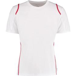 Textil Homem T-Shirt mangas curtas Gamegear Cooltex Branco/vermelho