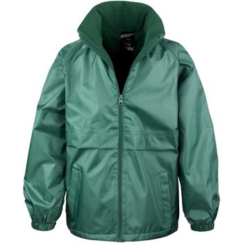 Textil Criança Corta vento Result R203JY Garrafa Verde