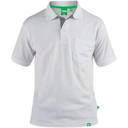 Textil Homem Polos mangas curta Duke  Branco