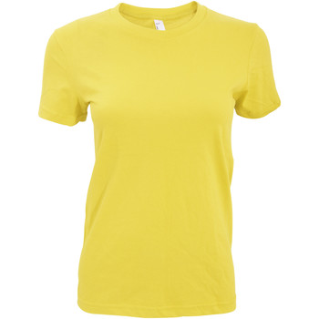 Textil Mulher T-Shirt mangas curtas American Apparel AA003 Luz do sol