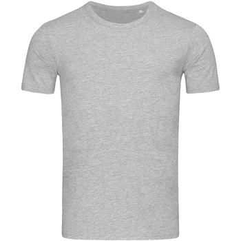 Textil Homem T-Shirt mangas curtas Stedman Stars Morgan Heather Grey