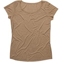 Textil Mulher T-Shirt mangas curtas Stedman Stars  Vintage Brown