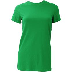 Textil Mulher T-Shirt mangas curtas Bella + Canvas BE6004 Kelly Green