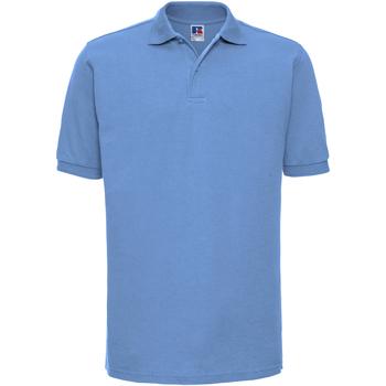 Textil Homem Polos mangas curta Russell Ripple Azul Céu