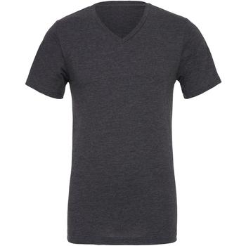 Textil Homem T-Shirt mangas curtas Bella + Canvas CA3005 Cinza Escura Heather