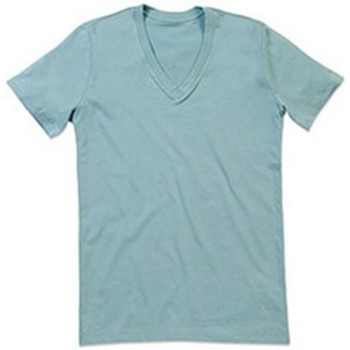 Textil Homem T-Shirt mangas curtas Stedman Stars  Frosted Blue