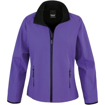 Textil Mulher Casaco polar Result R231F Púrpura / Preto