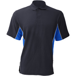Textil Homem Polos mangas curta Gamegear KK475 Marinha/Luz azul/branco claro