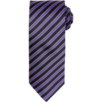 Textil Homem Gravatas e acessórios Premier PR782 Rich Violet/Black