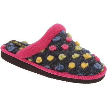 Sapatos Mulher Chinelos Sleepers Donna Fúcsia/Multi