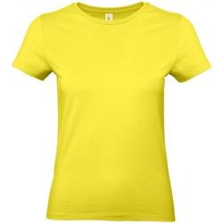 Textil Mulher T-Shirt mangas curtas B And C E190 Amarelo solar