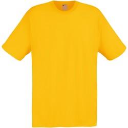 Textil Homem T-Shirt mangas curtas Universal Textiles 61082 Ouro