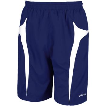 Textil Homem Shorts / Bermudas Spiro S184X Marinha/ Branco
