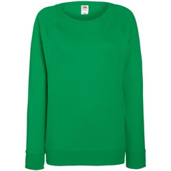 Textil Mulher Sweats Fruit Of The Loom 62146 Kelly Green