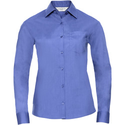 Textil Mulher camisas Russell 934F Azul Corporativo