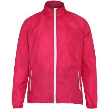 Textil Homem Corta vento 2786  Rosa/ Branco quente