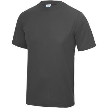 Textil Criança T-Shirt mangas curtas Awdis JC01J Carvão vegetal