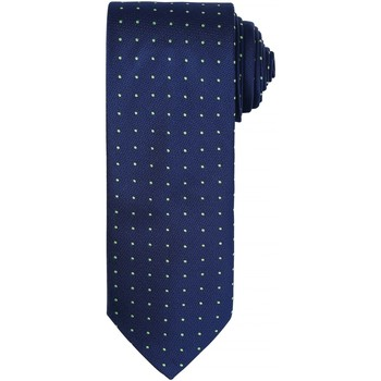 Textil Homem Gravatas e acessórios Premier Dot Pattern Marinha/ Lime