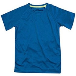 Textil Criança T-Shirt mangas curtas Stedman  Rei Azul