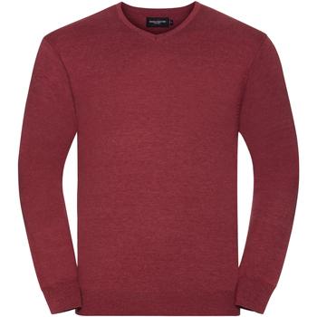 Textil Homem camisolas Russell 710M Cranberry Marl