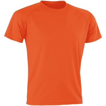 Textil Homem T-Shirt mangas curtas Spiro Aircool Orange