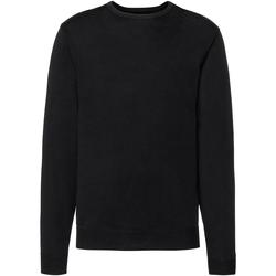 Textil Homem camisolas Russell J717M Preto