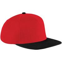 Acessórios Boné Beechfield B660 Clássico vermelho/preto