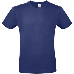 Textil Homem T-Shirt mangas curtas B And C TU01T Azul elétrico
