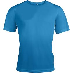 Textil Homem T-Shirt mangas curtas Kariban Proact PA438 Aqua