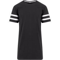 Textil Homem T-Shirt mangas curtas Build Your Brand BY032 Preto/branco