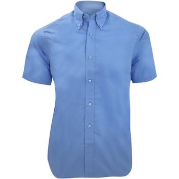 Textil Homem Camisas mangas curtas Kustom Kit KK385 Azul claro