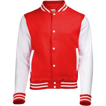 Textil Criança Jaquetas Awdis JH43J Incêndio Vermelho/branco