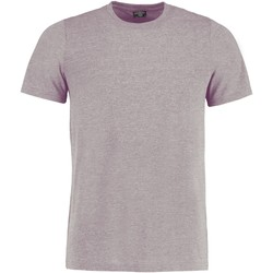Textil T-Shirt mangas curtas Kustom Kit KK504 Marl cinzento claro