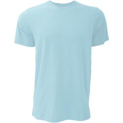 Textil Homem T-Shirt mangas curtas Bella + Canvas CA3001 Heather Ice Blue