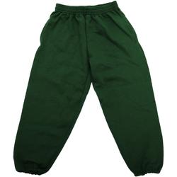 Textil Criança Calças de treino Jerzees Schoolgear 750B Garrafa Verde