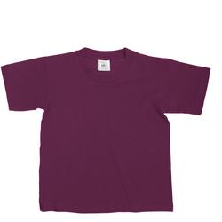Textil Criança T-Shirt mangas curtas B And C TK300 Borgonha