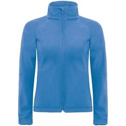 Textil Mulher Corta vento B And C JW937 Azul-azul